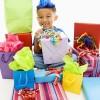 kind met cadeautjes