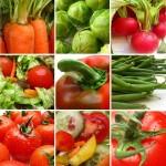 gruit-tip over groente en fruit gruiten