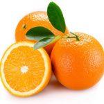 sinaasappel eten niet drinken