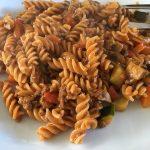 pasta stroganoff voedzaam en lekker