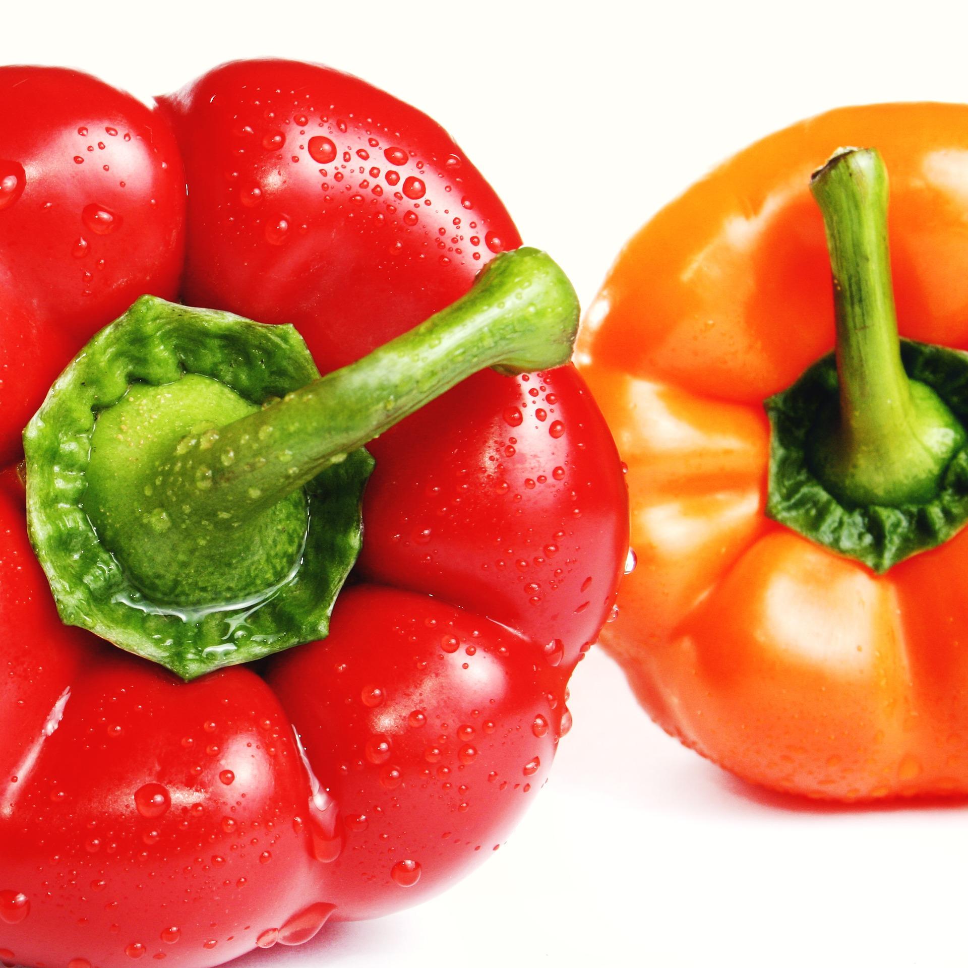 wraps met paprika