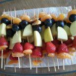 fruit is lekker en zoeten dat vinden kinderen fijn
