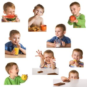 Kinderen opvoeden met voeding